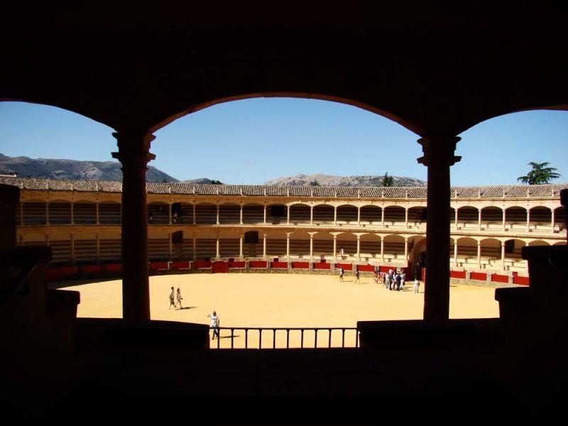 Les Arènes de Ronda sont un des lieux emblématiques de la ville